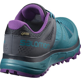 Salomon Trailster GTX Shoes Dam deep lagoon/navy blazer/purple magic